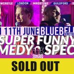Stand up comedy at Bluebell Vineyard