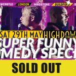 comedy live events in Worthing