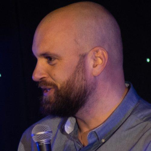 Comedian Adam Morrison