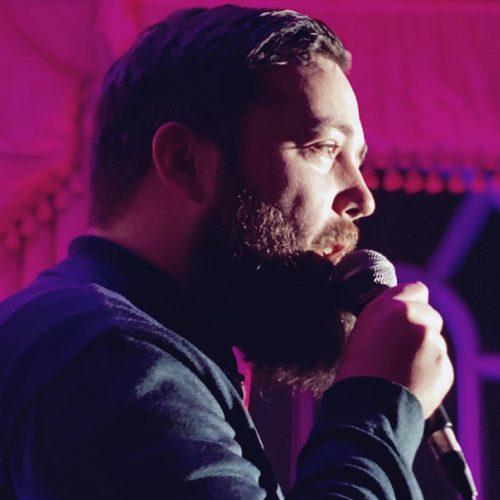 Comedian Michael Frankland