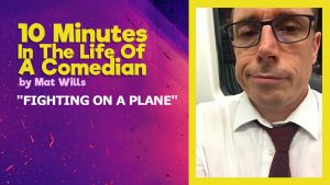 Fighting on a plane - One Off Comedy blog