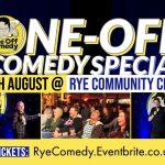 standup comedy night in Rye 2021