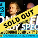 comedy night in Crowborough
